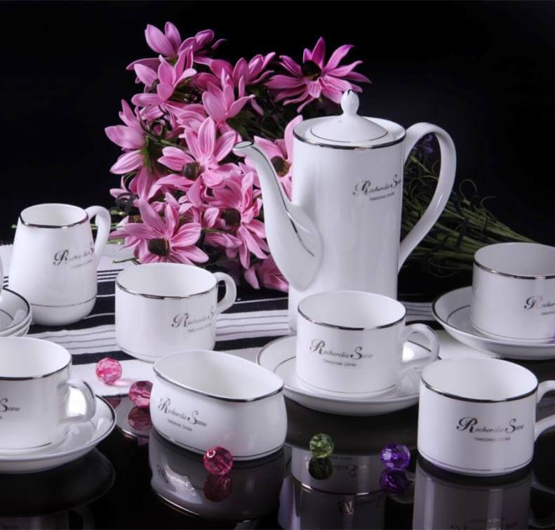 生活元素骨质瓷咖啡具